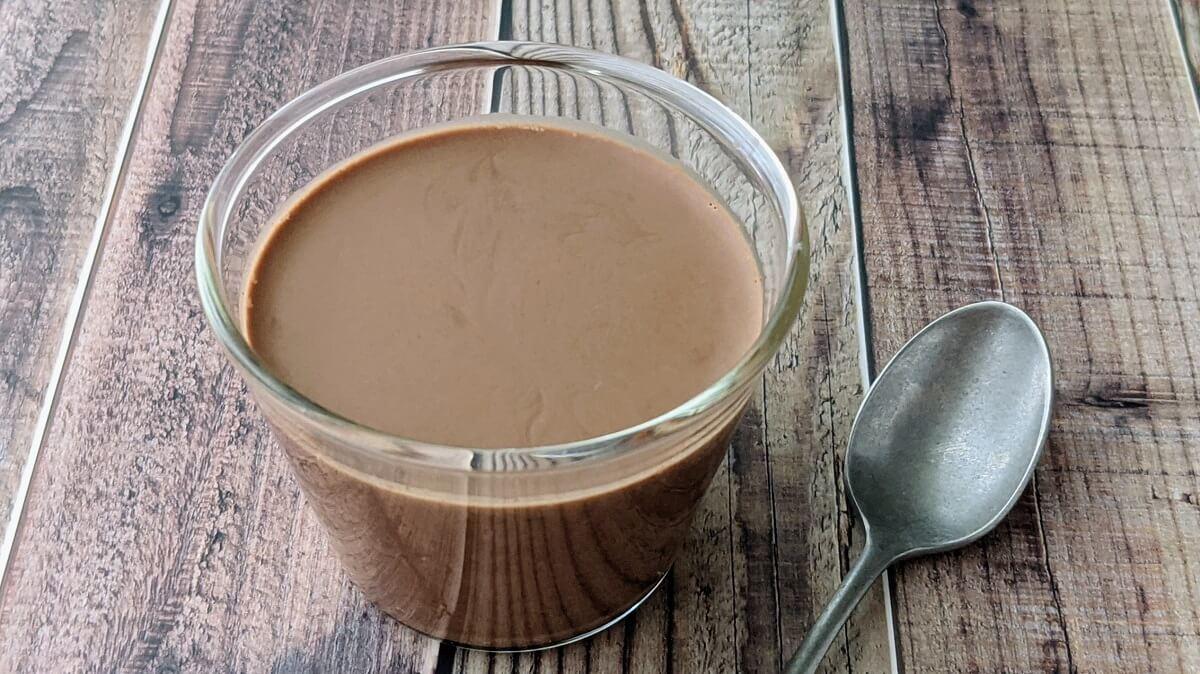 【レシピ】材料4つ!蒸さない&濾さない簡単!なめらかチョコプリン