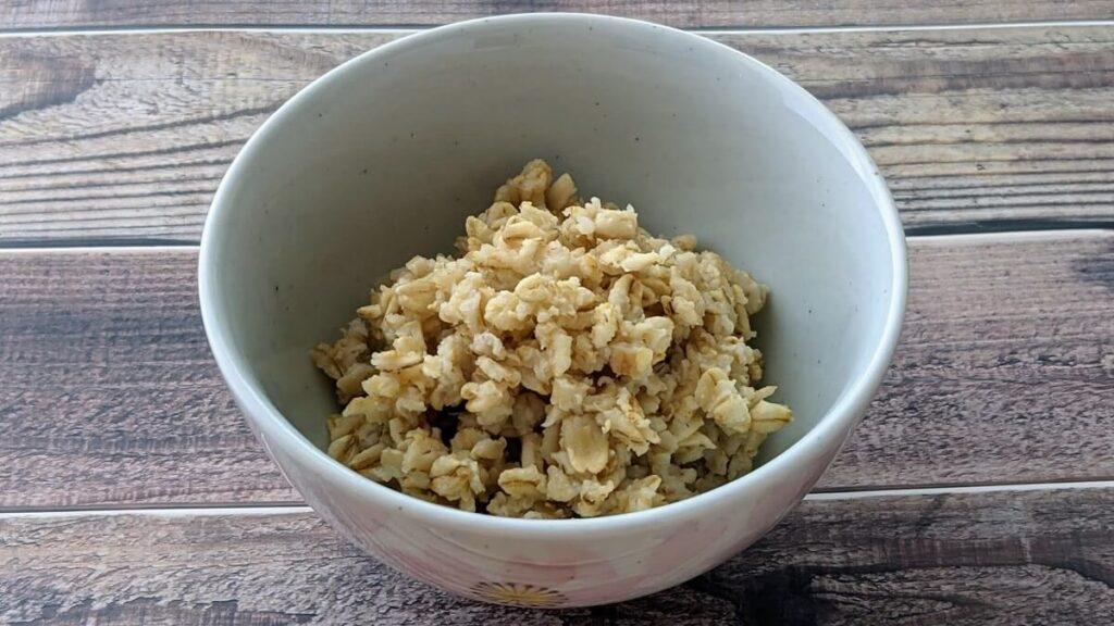 【食レポ】アリサン「有機オートミール」は大粒で米化にぴったり